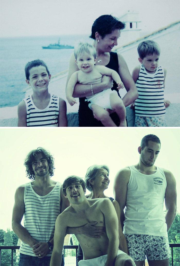 siblings childhood photo recreation 25 58f4b5401c64c 700