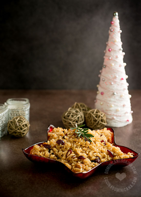 brown christmas rice recipe DSC6136