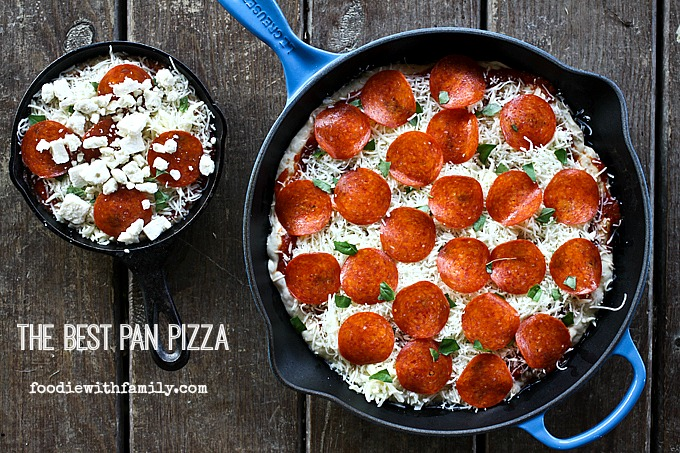 The Best Pan Pizza 2