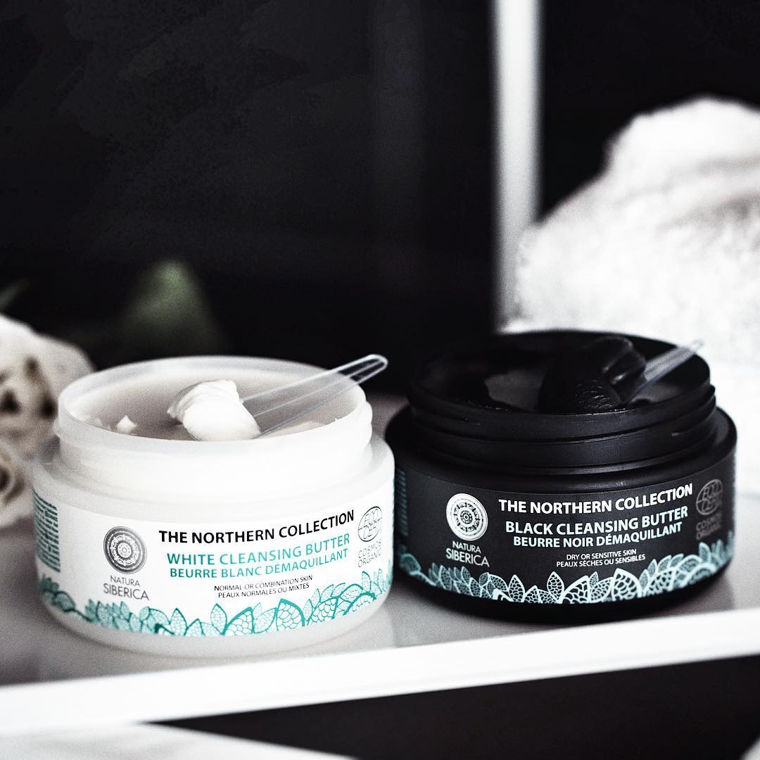 Cleansing Butters black white 2