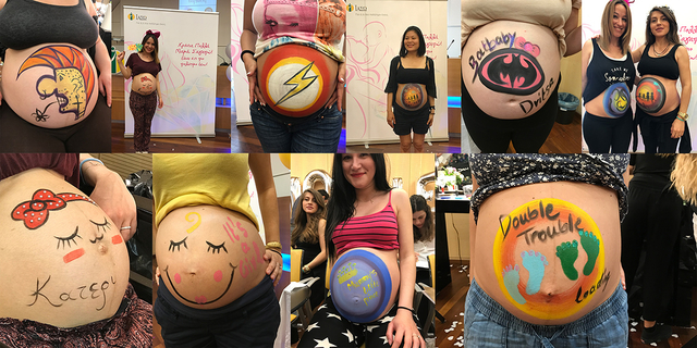iaso belly painting 2