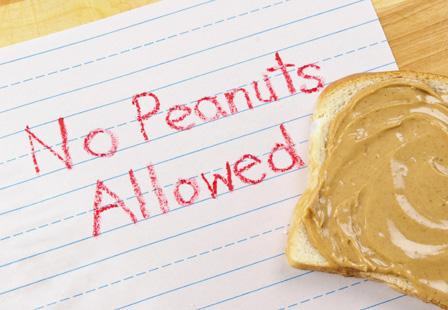 no peanuts allowed ijfurp