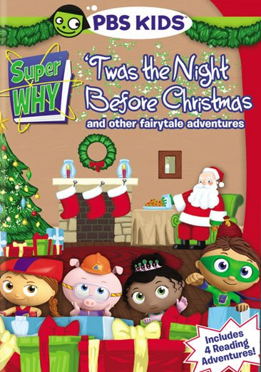 PBS Super Why Twas Night Before Christmas More