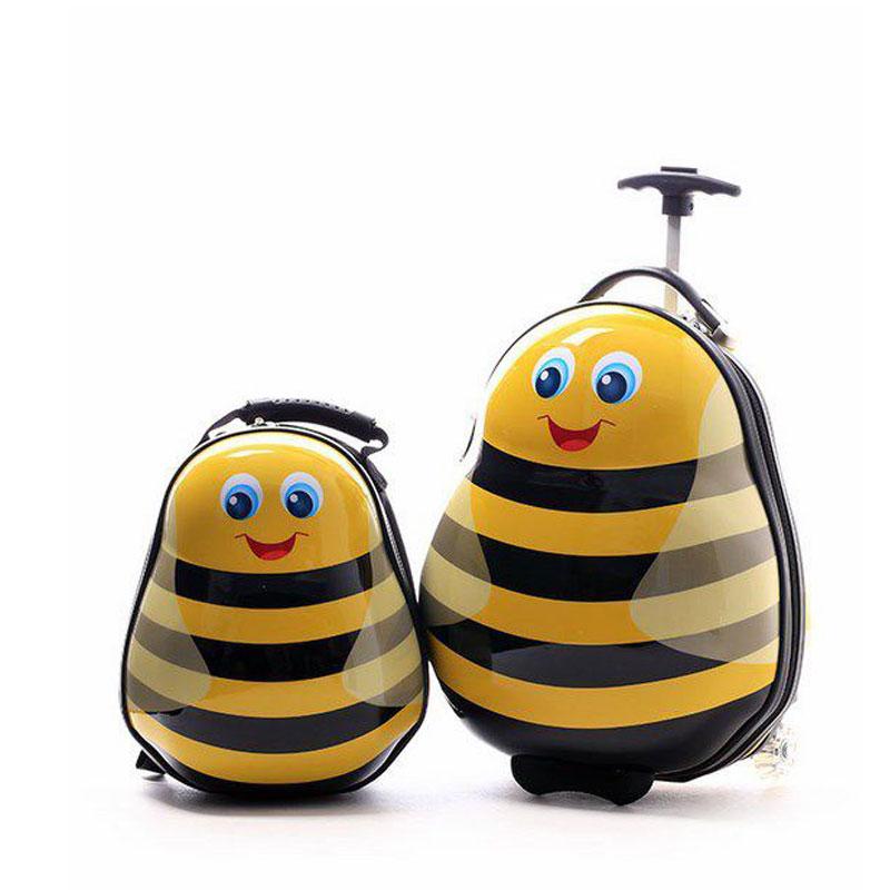 Σετ Βαλίτσα και Backpack Μελισσάκια