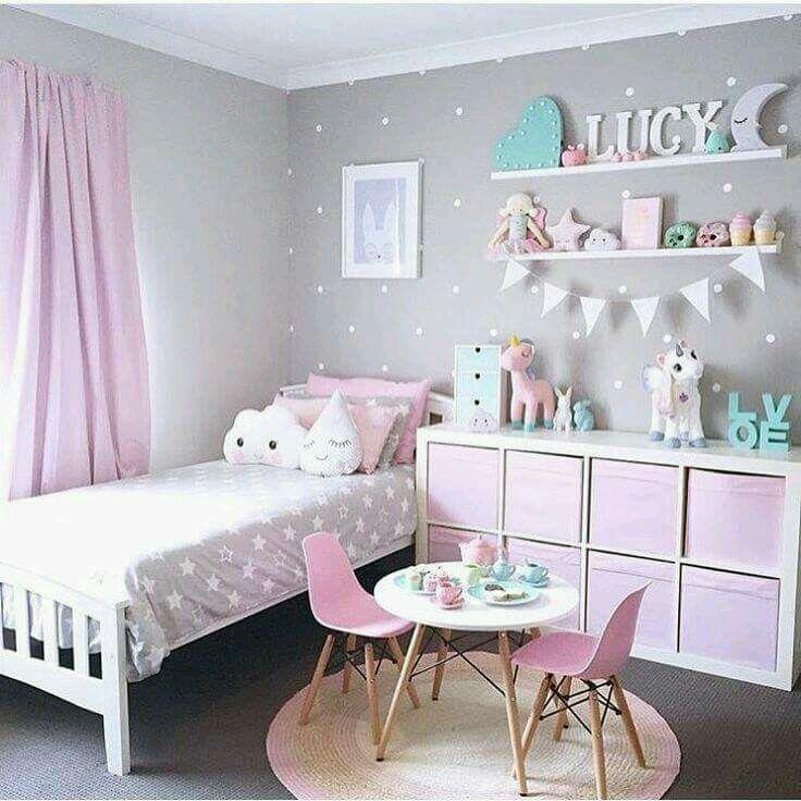 e57c9685972 Ανάλογα λοιπόν με το πόσο φωτεινό είναι το παιδικό δωμάτιο και πόσα έπιπλα  έχει ή πρόκειται να βάλετε, επιλέξτε ποιες επιφάνειες θα βάψετε σε γκρι, ...