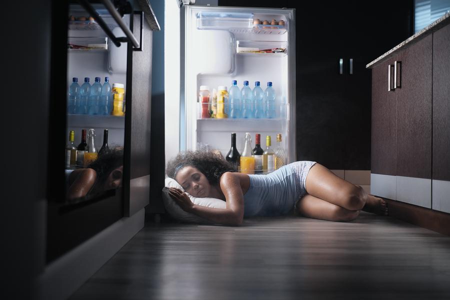 bigstock Young Hispanic Woman Suffering 246093181