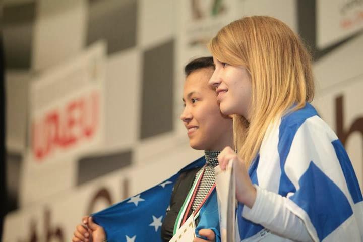 tsolakidou wycc2013 chess champion gold