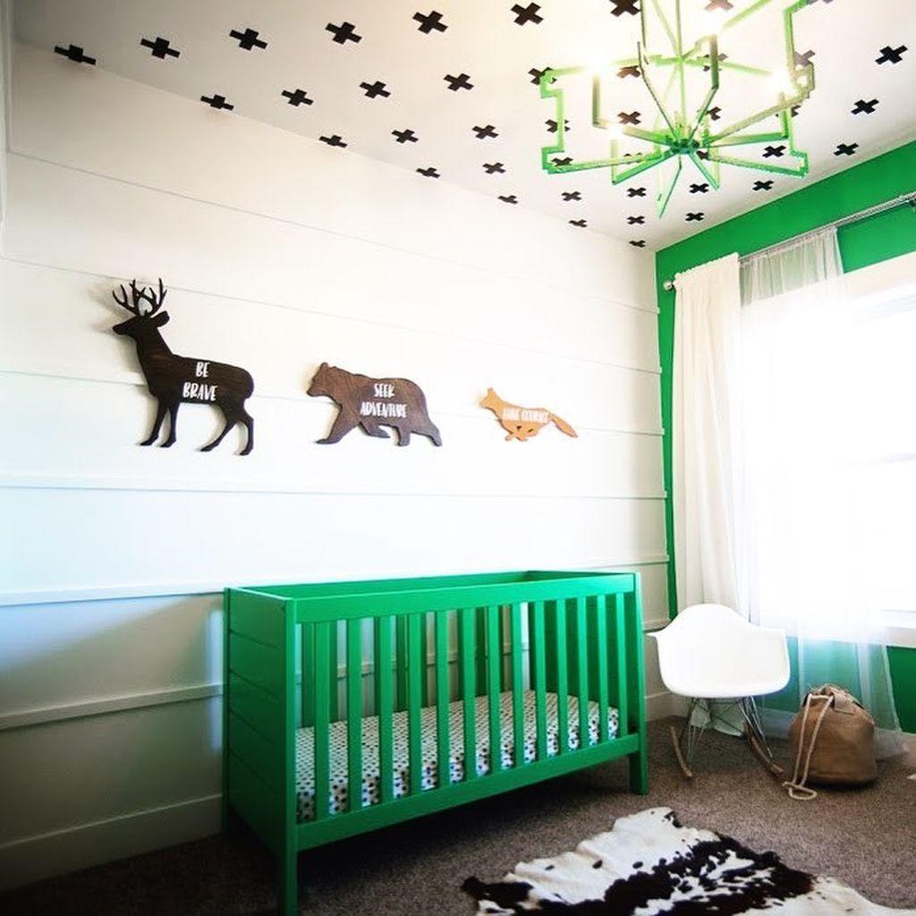 19e94cb7b77 Βρεφικό και παιδικό δωμάτιο σε πράσινη απόχρωση - 25 ιδέες για να το  διακοσμήσετε - Mothersblog.gr