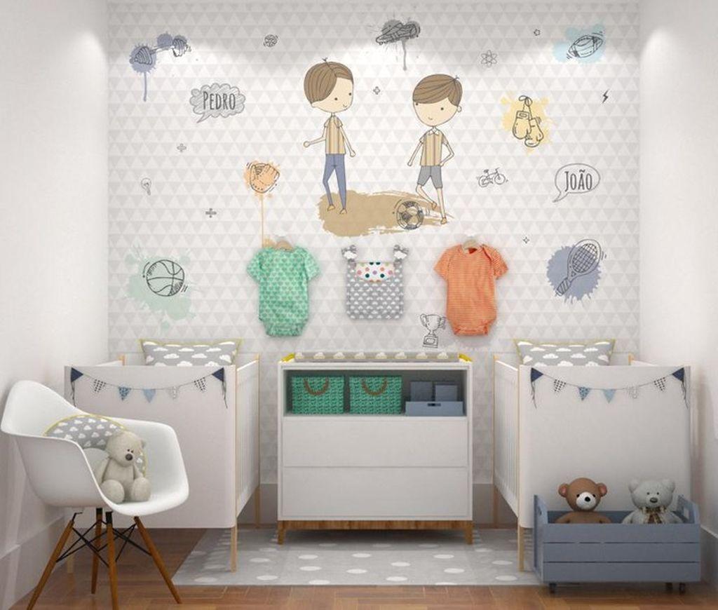 11ea3b9a749 Βρεφικό δωμάτιο για δίδυμα: Πρακτικές ιδέες που θα σας βολέψουν ...