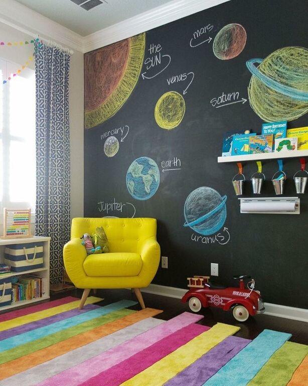 a977d6eec13 Μαυροπίνακας: Φτιάξτε μια γωνιά έκφρασης και δημιουργίας στο παιδικό ...
