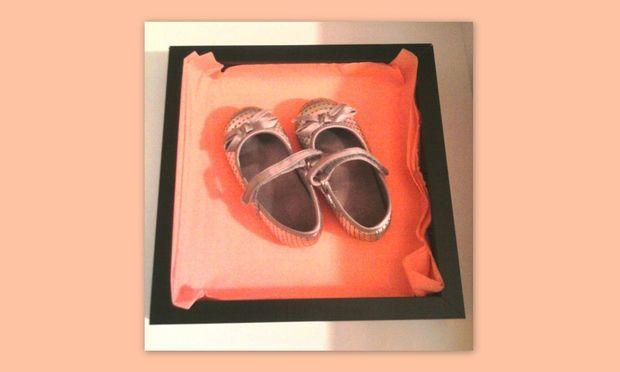 Μην πετάξετε ποτέ τα πρώτα παπουτσάκια του παιδιού σας!