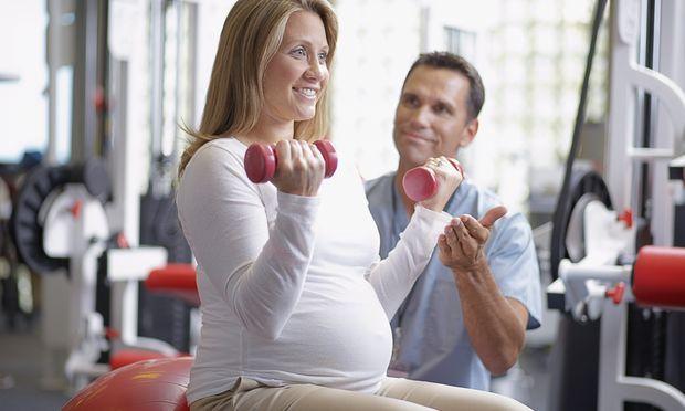 Γυμναστική κατά την περίοδο της εγκυμοσύνης