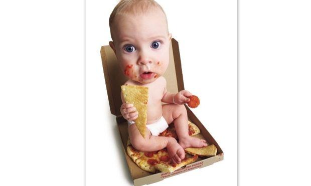 Λαχταριστή πίτσα για παιδιά