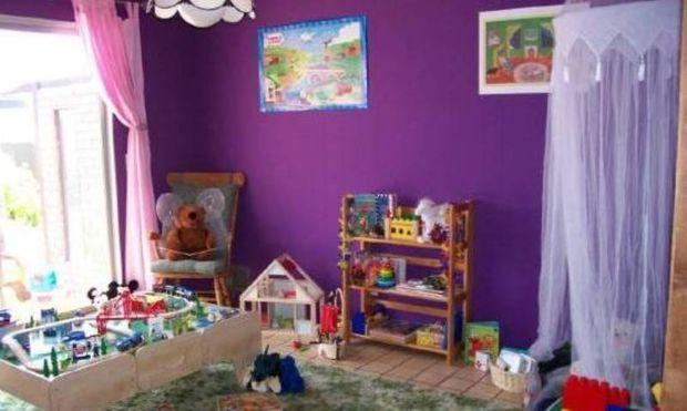 Πρόταση για παιδικό δωμάτιο: Το μοβ όνειρο!