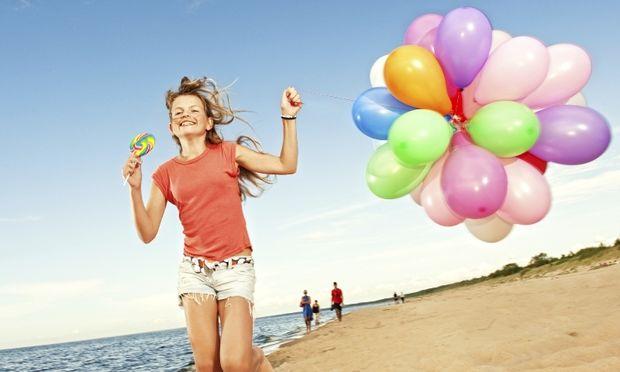 Πάρτι γενεθλίων στην παραλία!