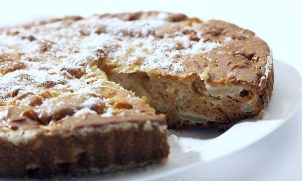 Λαχταριστό κέικ με μήλα για παιδιά
