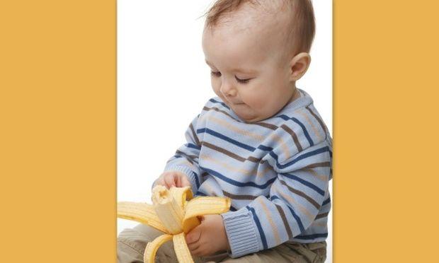 Μπανάνα η θαυματουργή για την ανάπτυξη του παιδιού!