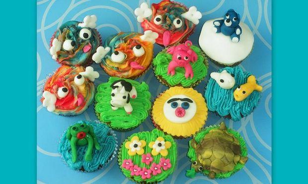Εντυπωσιακά  και νόστιμα cupcakes