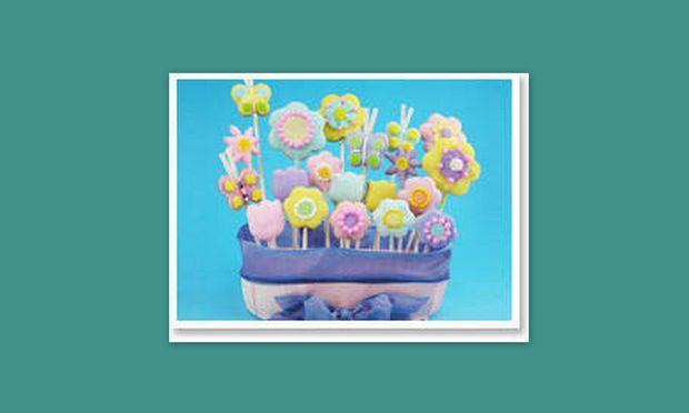 Μια λουλουδένια τούρτα