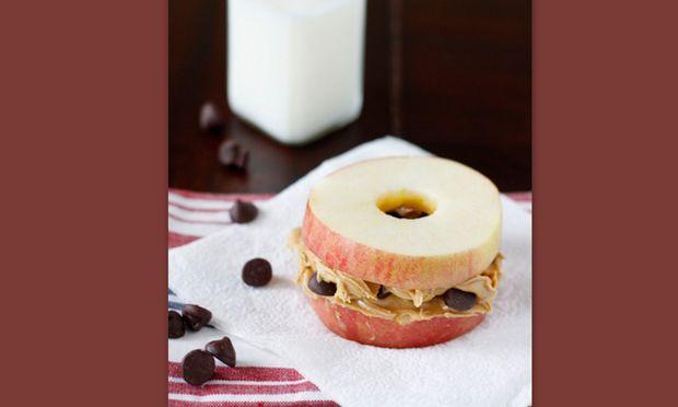 «Σούσι» με μήλο και σοκολάτα