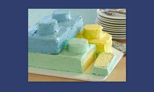 Μία τούρτα με σχήμα τα αγαπημένα σας τουβλάκια