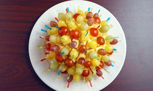 Έξυπνη ιδέα για σερβίρισμα τυριών σε παιδικό πάρτι!