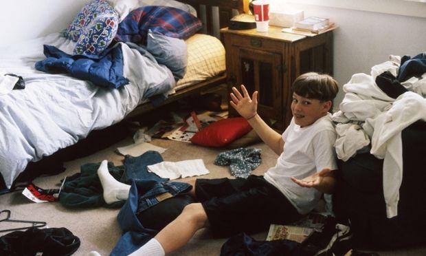 10 βήματα για να πείσετε το παιδί σας να φροντίζει το δωμάτιό του
