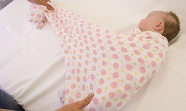 Πώς να τυλίγετε καλύτερα το νεογέννητο μωράκι σας