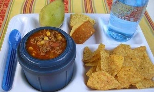 Σούπα από tacos