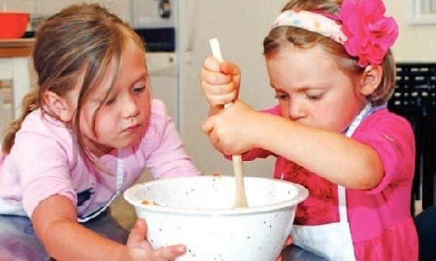 Μαγειρέψτε μαζί με τα παιδιά σας