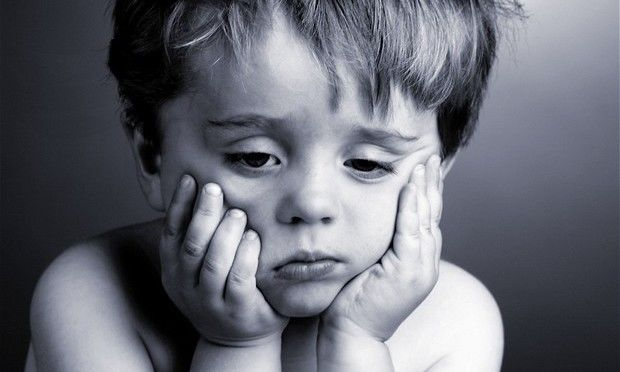 Ένα κουρασμένο παιδί, σίγουρα θα γκρινιάζει