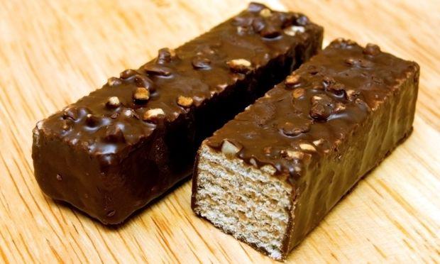 Σπιτικές γκοφρέτες με σοκολάτα