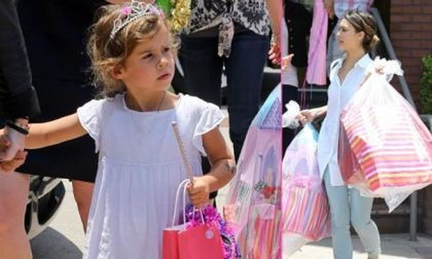 Jessica Alba: Το πάρτι για την 4χρονη Honor