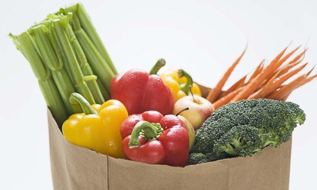 Αφήστε το παιδί να ψωνίσει μόνο του τα λαχανικά που θέλει!