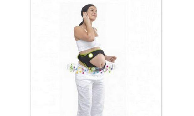 Απίστευτο και όμως αληθινό: Ηχοσύστημα για την κοιλιά μιας εγκύου!