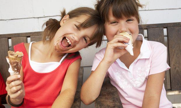 Δώστε άφοβα παγωτά στα παιδιά σας!