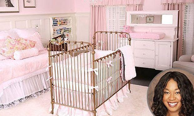Το ροζ παιδικό δωμάτιο της Shonda Rhimes