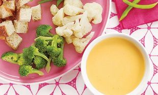 Dip με τυρί και λαχανικά