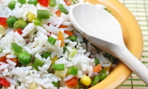 Ριζότο με λαχανικά για τα παιδιά!