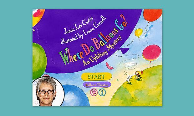 Τα παιδικά βιβλία της Jamie Lee Curtis στο iPad