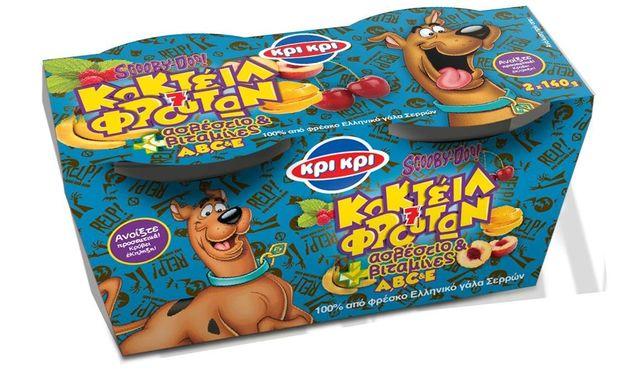 Νέο παιδικό γιαούρτι ΚΡΙ ΚΡΙ  με τον αγαπημένο ήρωα Scooby Doo και συναρπαστικές εκπλήξεις!
