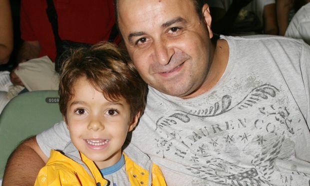 Μάρκος Σεφερλής«Όταν είδα πρώτη φορά τον γιο μου έβαλα τα κλάματα»