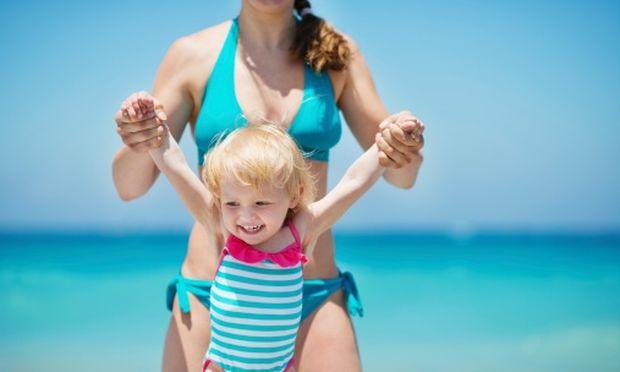 Ποιες ώρες πρέπει να πηγαίνω στην παραλία με το παιδί;