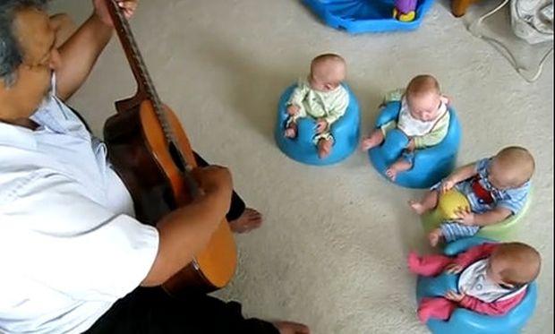 Κονσέρτο κιθάρας για νεογέννητα!