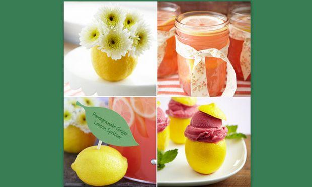 Ένα πάρτι γεμάτο λεμόνια