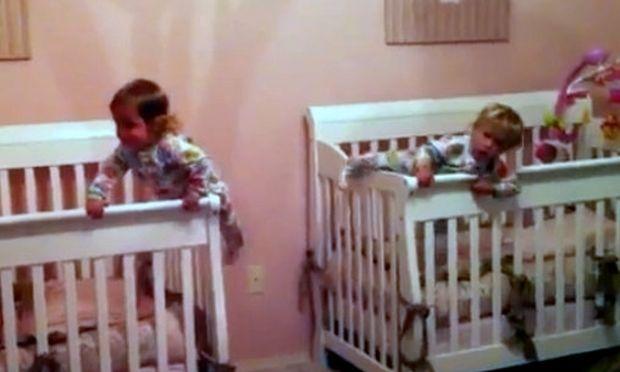 Βίντεο: Δίδυμη... απόδραση