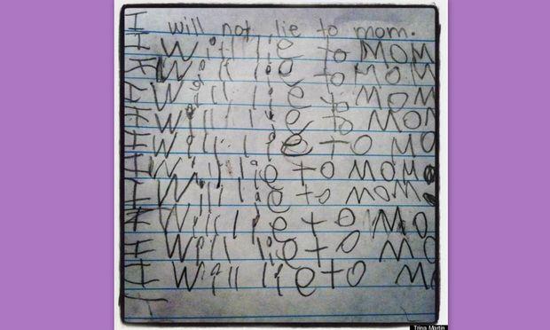 Πως μια τιμωρία σε 6χρονη προκάλεσε απίστευτο γέλιο στη μαμά της!