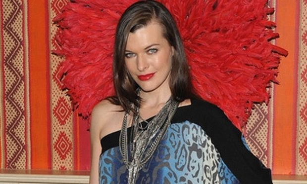Η πιο παράξενη λιγούρα της Milla Jovovich όταν ήταν έγκυος