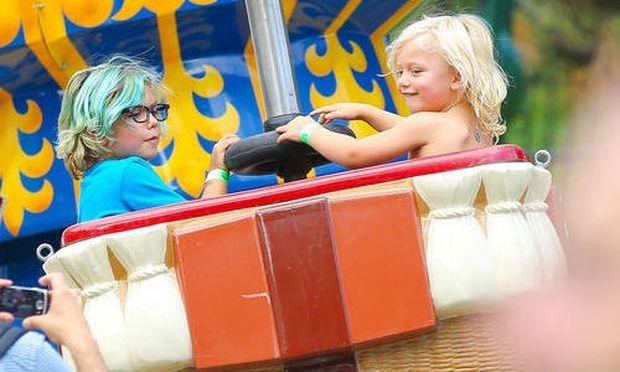 Gwen Stefani: Στιγμές διασκέδασης με τους γιους της