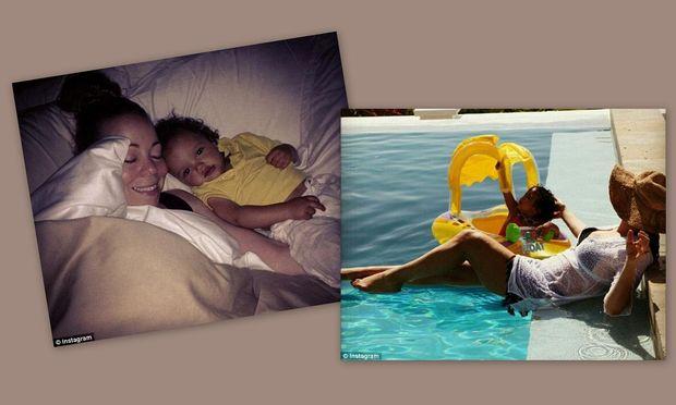 Τρυφερές στιγμές της Mariah Carrey με τα δίδυμά της!